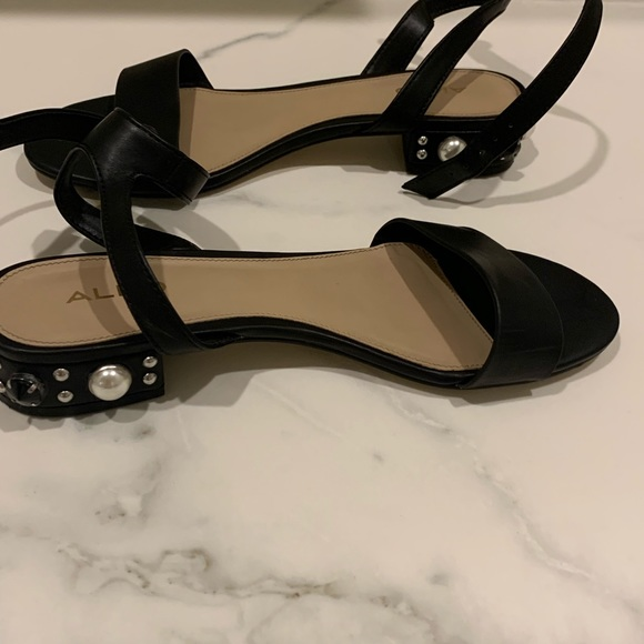 77beff0b357 Aldo Shoes | Black Sandals | Poshmark